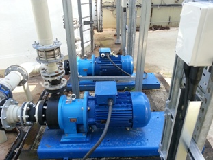M Pumps C MAG-P100 for effluent waste